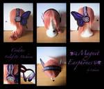Vocaloid - Magnet Earphones by Lehanan