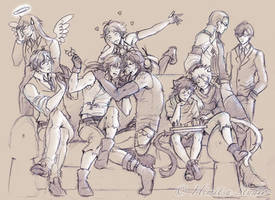 Lymbus - In this together - Sketch by Lehanan