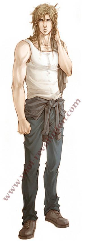 Orochi no Kishi - Mouse character sheet by Lehanan
