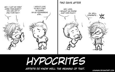 HYPOCRITES by Lehanan