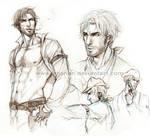 Dual Gun - Joe sketches