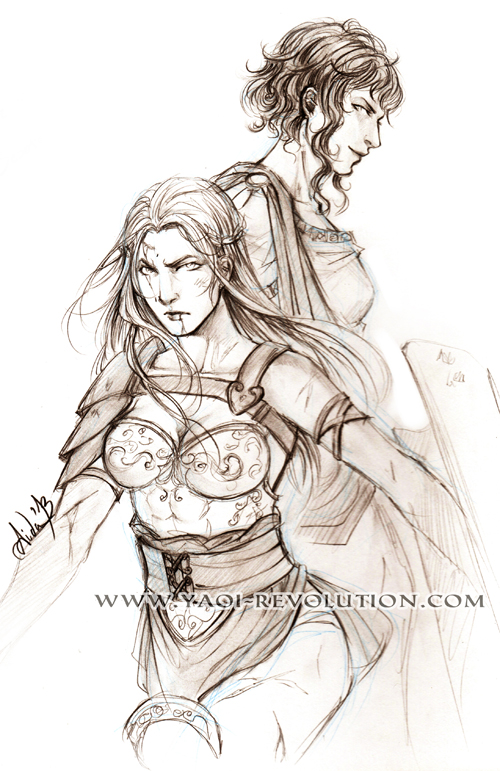 Arena sketch 04 - Gender bender by Lehanan