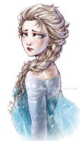 Frozen - The Sad Queen - Elsa
