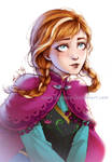 Frozen - Here for you - Anna