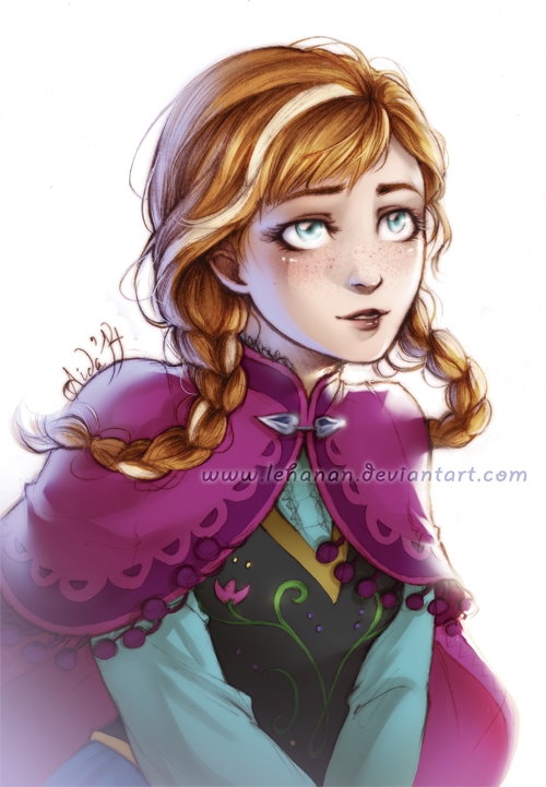 Frozen - Here for you - Anna by Lehanan