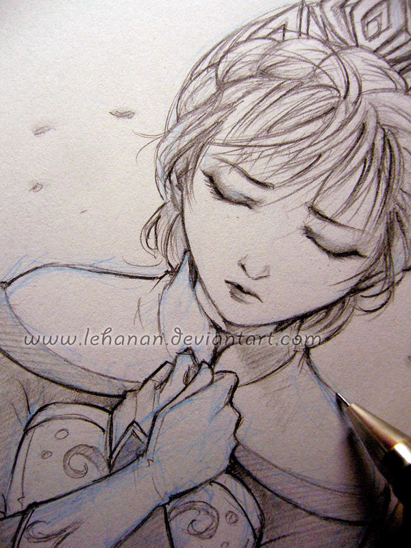 Frozen - Loneliness - Sketch by Lehanan