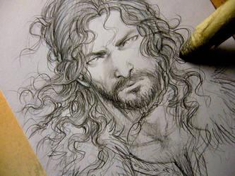 Random viking sketch by Lehanan