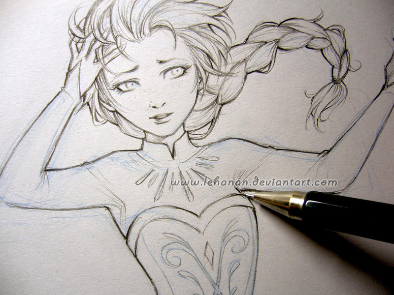 Frozen - Liberation WIP - Elsa by Lehanan