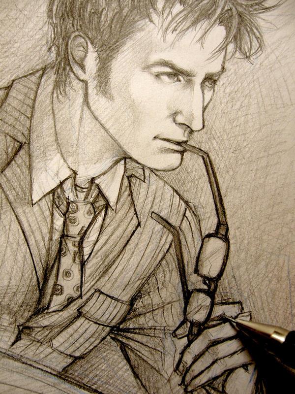 Doctor Who - David Tennant tribute by Lehanan