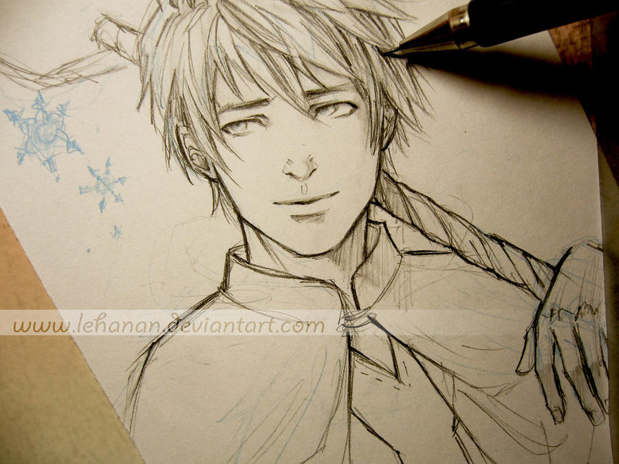 Jack Frost - Hope - Sketch by Lehanan