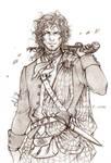 Outlander - The Highlander - Sketch
