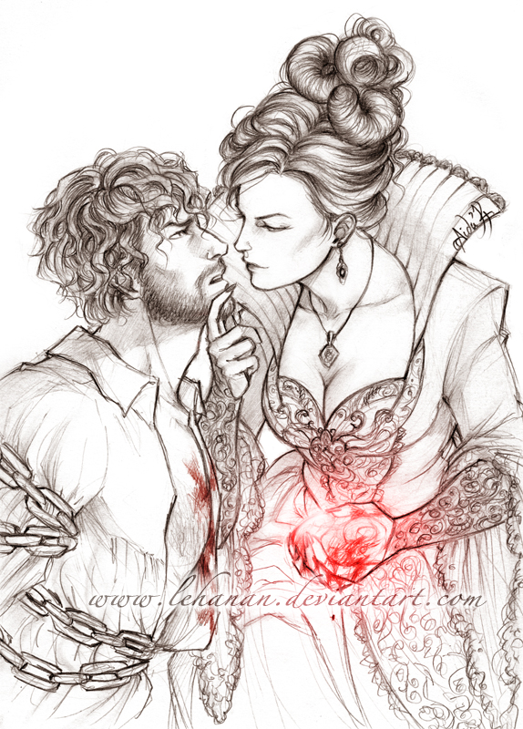 OUAT- My slave, forever and ever -Regina/Huntsman by Lehanan