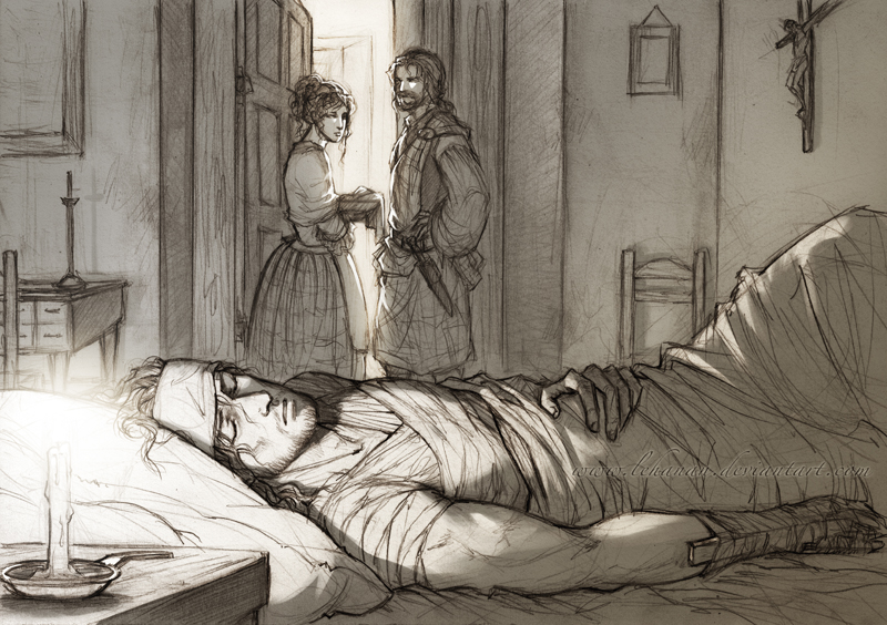 Outlander - Healing at the Abbey by Lehanan
