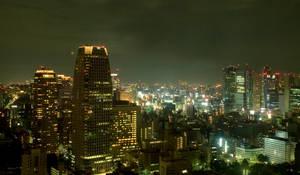 night in tokyo2 by weiweihua