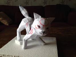 Chibiterasu Papercraft