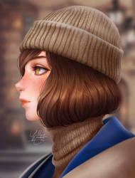 Random Portrait Painting