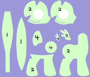 Pony Pattern Foal Version