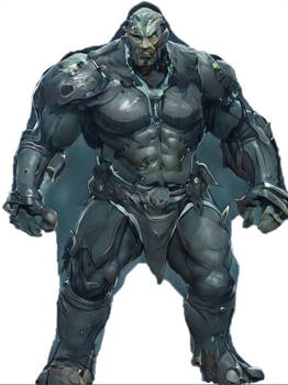 Big Ripped Warrior