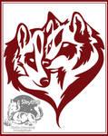 Tribal Wolflovepair