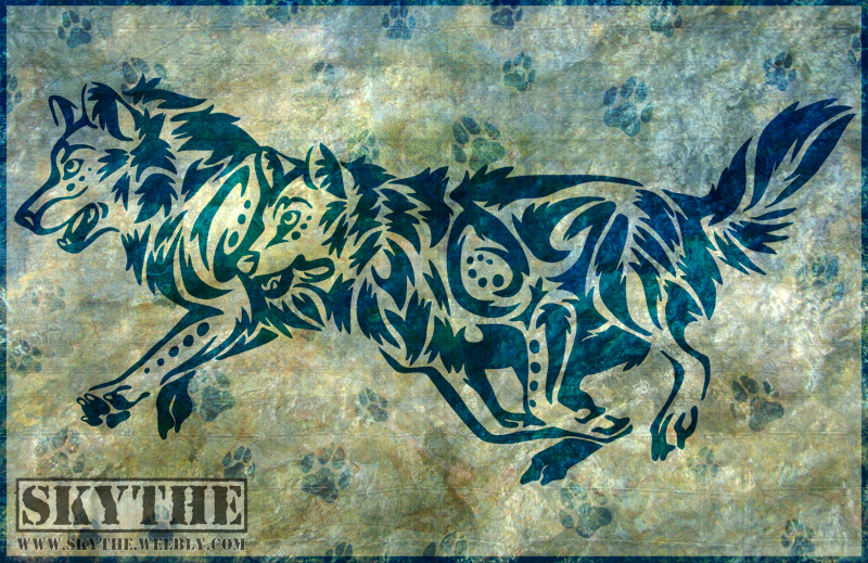 Wolf Run Tribal by NathalieNova
