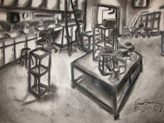 Backroom Sketch1 by Black-Cloak
