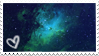 Galaxy stamp by Zheffari