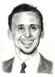 Tom Hiddleston by elizile