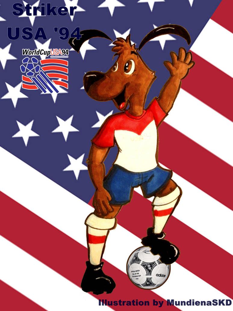 World Cup Mascots:  Striker by MundienaSKD on DeviantArt