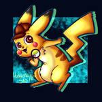 .:FanArt:. Detective Pikachu by MundienaSKD