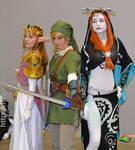 Princess Zelda Link and Midona