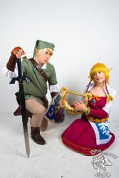 Zelda and Link from Skyward Sword
