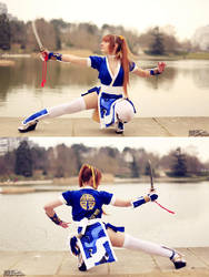 Kasumi Fight by memoire-hana