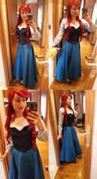Ariel Kiss the Girl Dress Little Mermaid