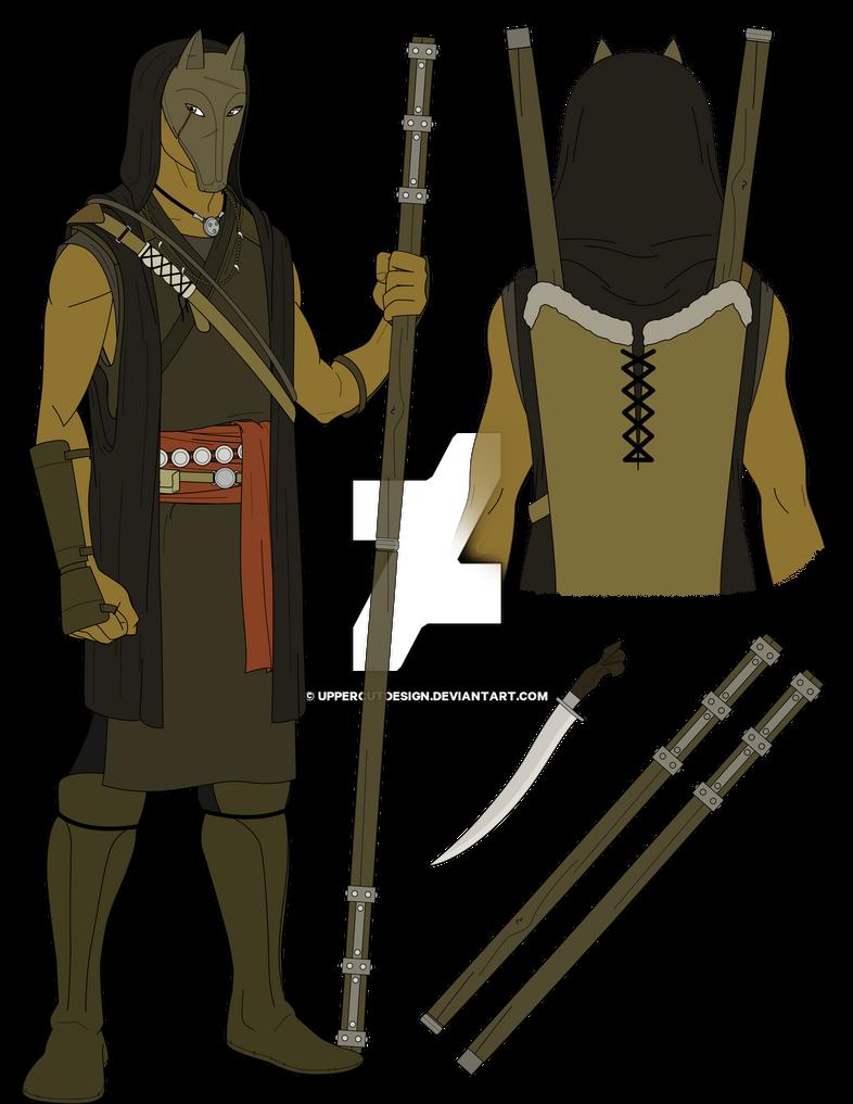 Illustration Original: Shadow Wolf by UppercutDesign