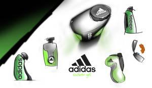 Adidas Body Gel Bottle by theblastedfrench
