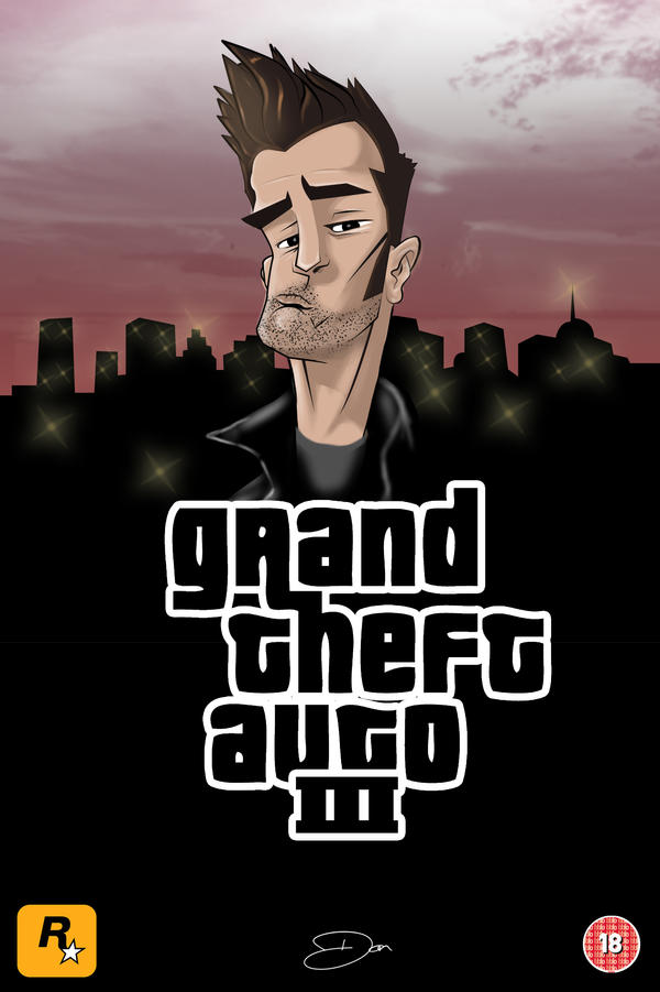 GTA Tribute Poster by theblastedfrench