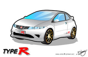 Honda Civic Type-R by theblastedfrench