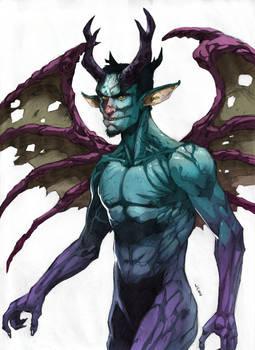 Demon-Satyr colored