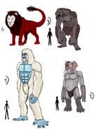 Fantasy Creatures 3 by Crystaldemon93