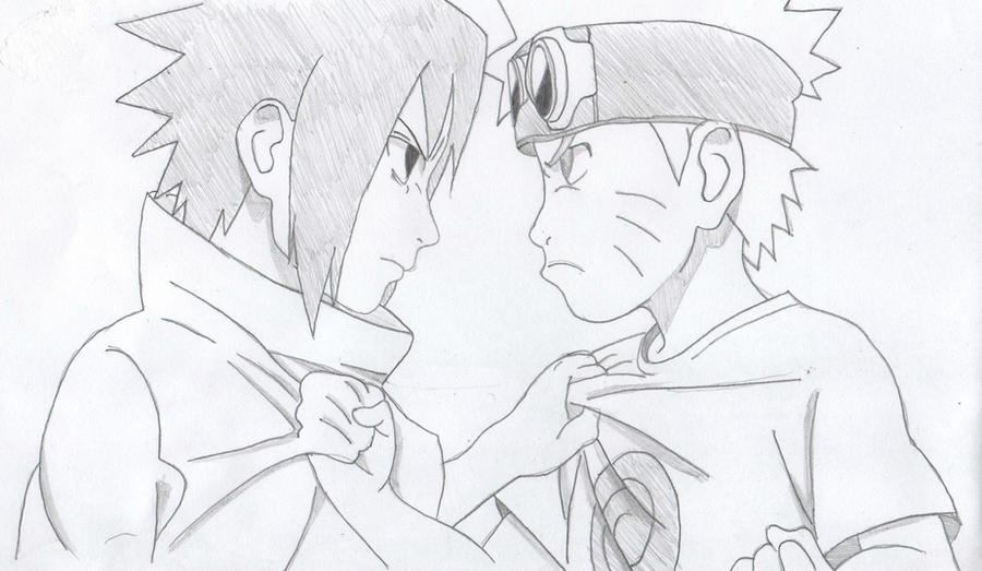 Naruto and sasuke by randomepicalex