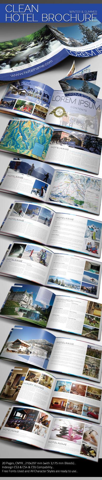 Clean Hotel Brochure by BALKAy
