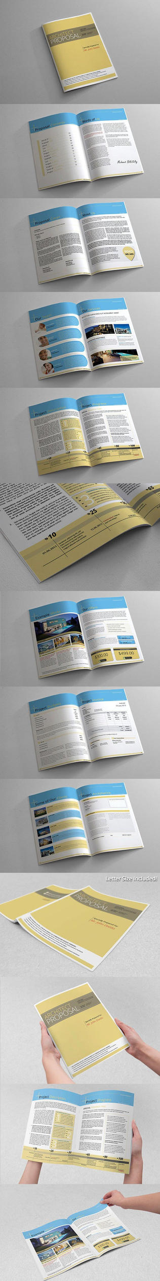 Project Proposal Template by BALKAy