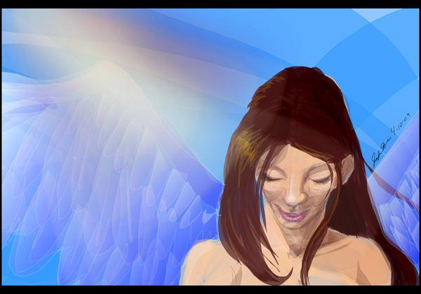 Luminescent Angel by AerithsSpirit