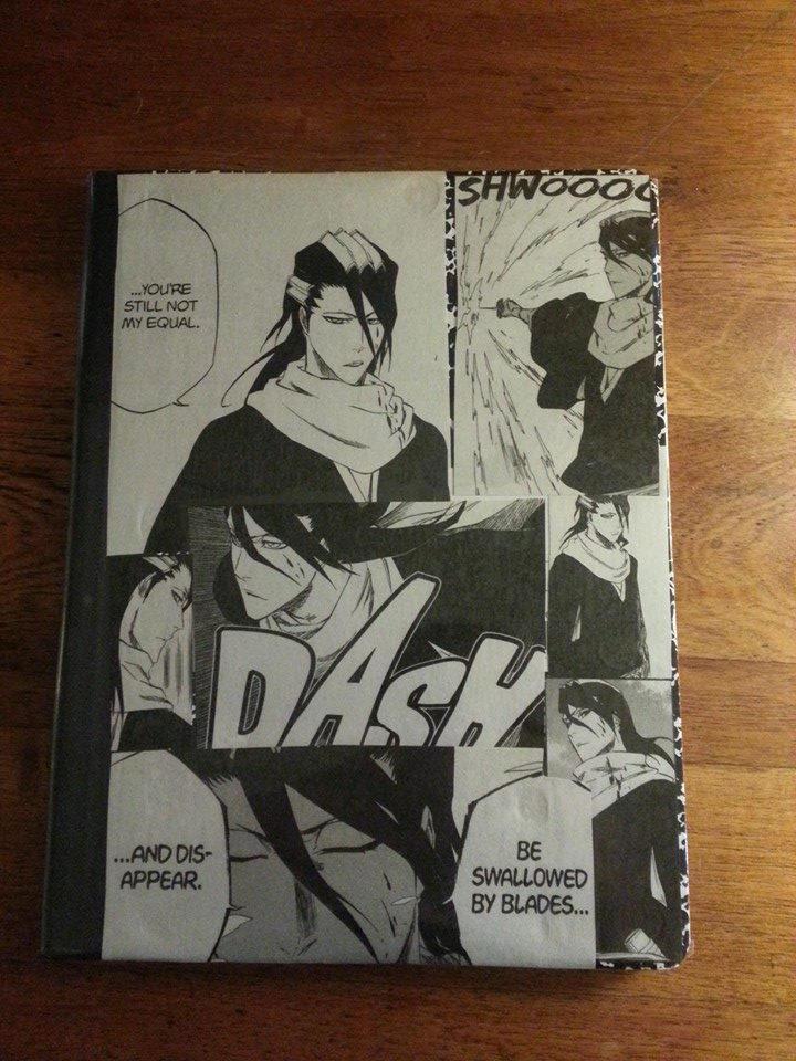 Byakuya Notebooke $35