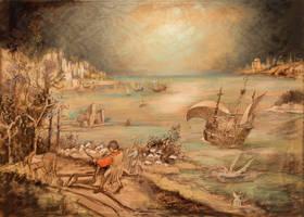 Breughels Icarus 5 by mr-macd