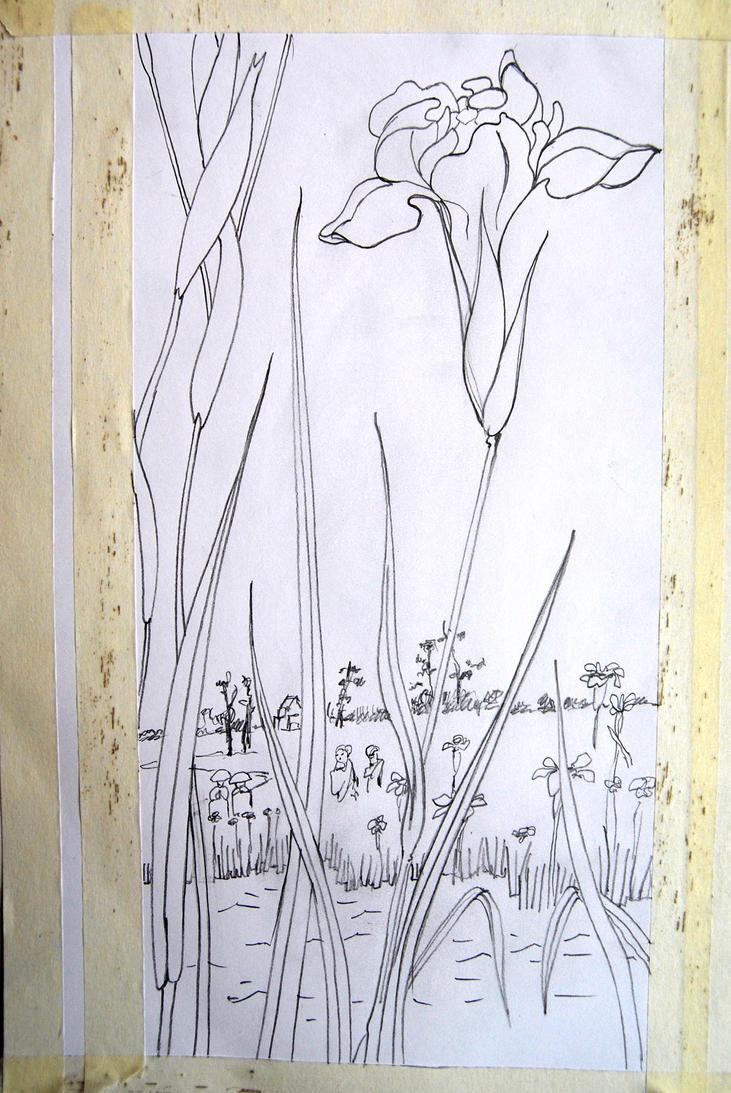 Iris Garden at Horikiri by mr-macd