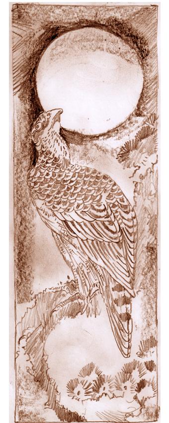 Falcon and Dawn Sun Sketch 2 by mr-macd