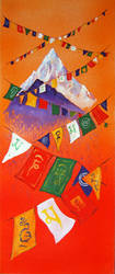 Prayer Flags Everest by mr-macd