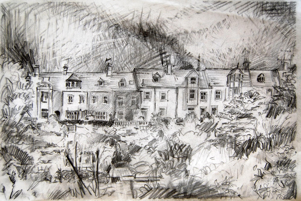 Sketch of my Terrace by mr-macd