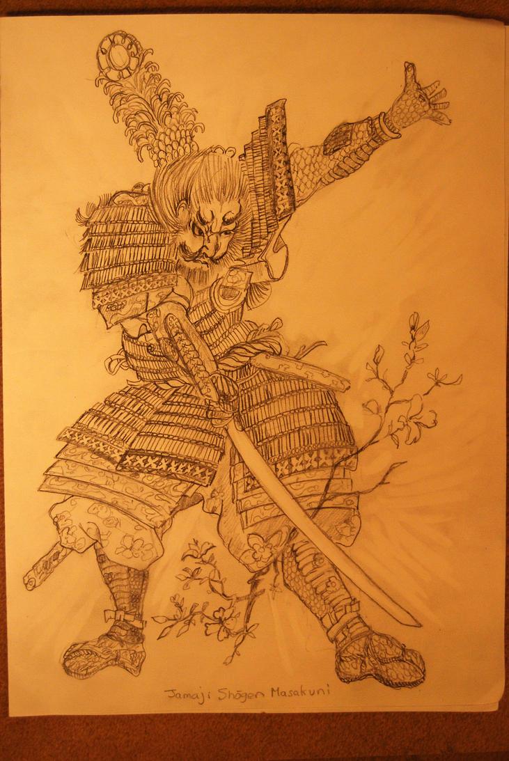 Yamaji Shogen Masakuni Sketch 2 by mr-macd